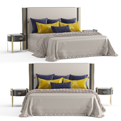 Turri Plaza bed and DORIS Opera bedside tables