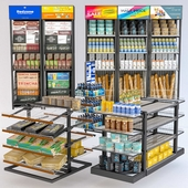Jc Grocery Display Rack Collection