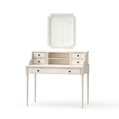 OM Dressing table with mirror, two mirrors