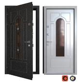 Entrance metal door Monolith (Your Frame)