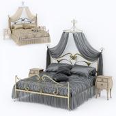 Кровать в стиле Art Nouveau