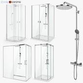 Set of shower cabins Radaway set 50