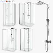 Set of shower cabins Radaway set 51
