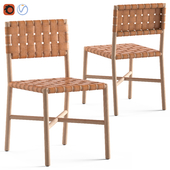 Globewest Seed Woven Dinning Chair