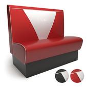 V-back sofa