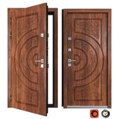 Entrance metal door of Vezha 1 (Your Frame)
