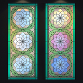 Stained Glass Lotus
