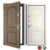 Entrance metal door of Vezha 2 (Your Frame)