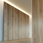 Декоративная стена. Стеновая панель из дерева. 19