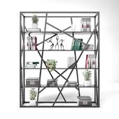 Scandinavian style bookcase.