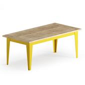 Old oak wooden table - Malaga Oldwood