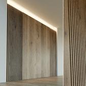 Стеновая панель из дерева. Декоративная стена. 22