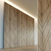 Стеновая панель из дерева. Декоративная стена. 24