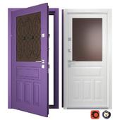 Martino Entrance Metal Door (Your Frame)