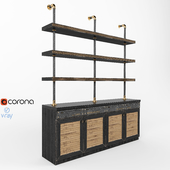 Home & People Loft Cabinet_Shelf
