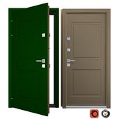 Orlando Entrance Metal Door (Your Frame)