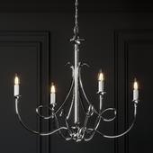 Visual Comfort Double Twist 5-Light Chandelier