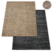Owen Handwoven Recycled Suede Rug RH Collection
