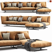 Flexform Evergreen Chaise Lounge