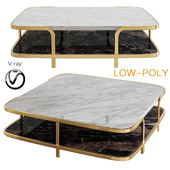 Small Table Odilon - Nube Italia (low poly)