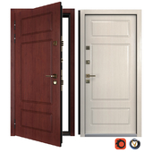 Входная металлическая дверь Классико 1 (Ваша Рамка)