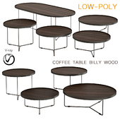 Coffee table Billy Wood (low poly)