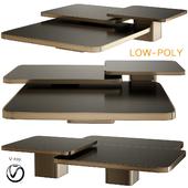 Bow Coffee Tables and Side Tables Classicon (low poly)