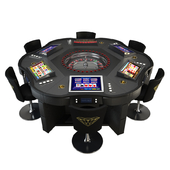 Game Table - Roulette Wheel Royal Crown