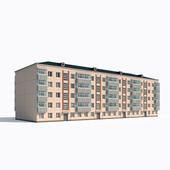 Панельный пятиэтажный дом