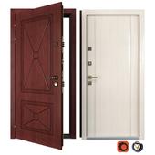 Входная металлическая дверь Классико 3 (Ваша Рамка)