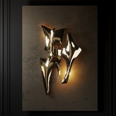 Signed Wall Light by Fred Brouard