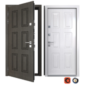 Entrance metal door of Classico 7 (Your Frame)