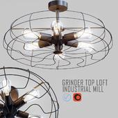 Grinder Top Loft Industrial Mill