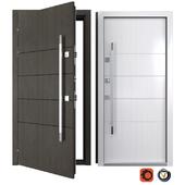 Входная металлическая дверь Модерн 1 (Ваша Рамка)
