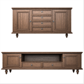 Rustic solid wood Cabinets