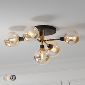 Mid Century Style Ceiling Lamp