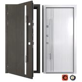 Entrance metal door Modern 2 (Your Frame)