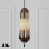 Mini Glass Pendant Light 3 Different Materials