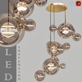 Suspension LED design BUBBLE LAMP
