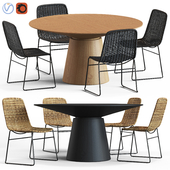 Globewest Olivia Chair and Classique Table