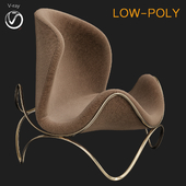 Modern Chair (low poly)