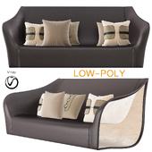 Split Chairs Alex Hull Split Sofa (low poly)