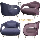 TURRI MILLER Armchair (low poly)