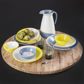 Kitchen Decorative set 09