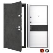 Entrance metal door Carbon (Your Frame)