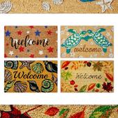 Welcome Door Rug Collection 3