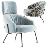 Bonaldo bahia armchairs