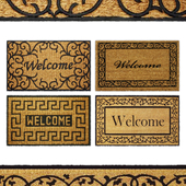 Welcome Door Rug Collection 4