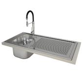 Kitchen sink and mixer