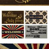 Welcome Door Rug Collection 5